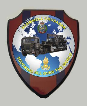 Scammell Crusader Plaque